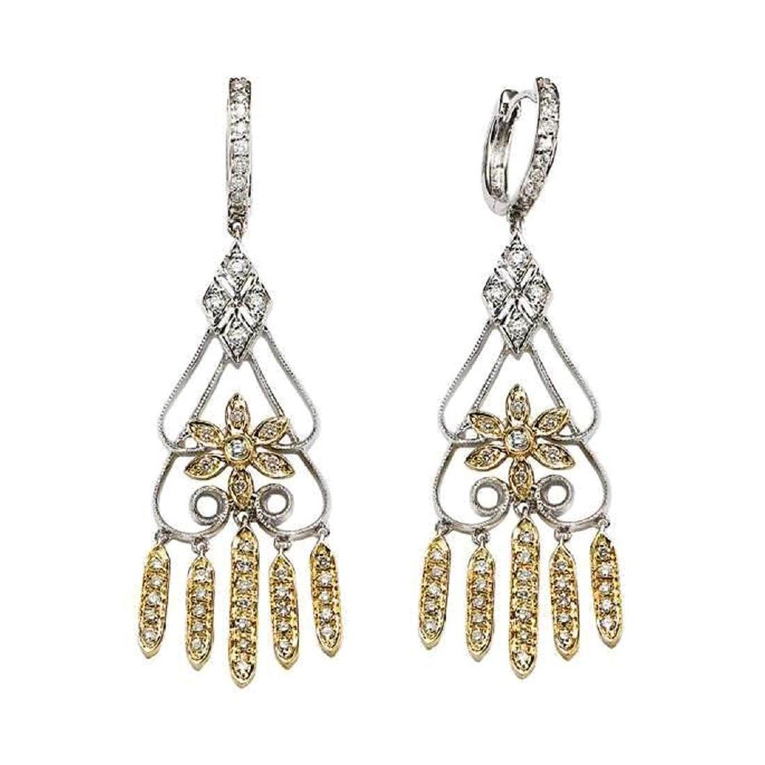 *Fine Jewelry, 14KT Two-Tone Gold, 0.70CT Diamond