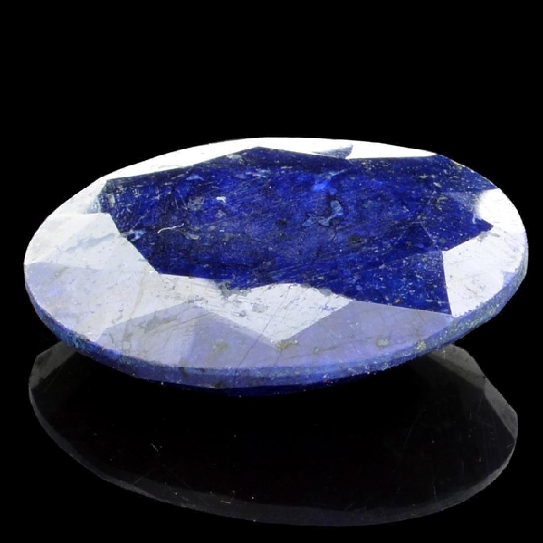 APP: 1.5k 30.92CT Oval Cut Blue Sapphire Gemstone