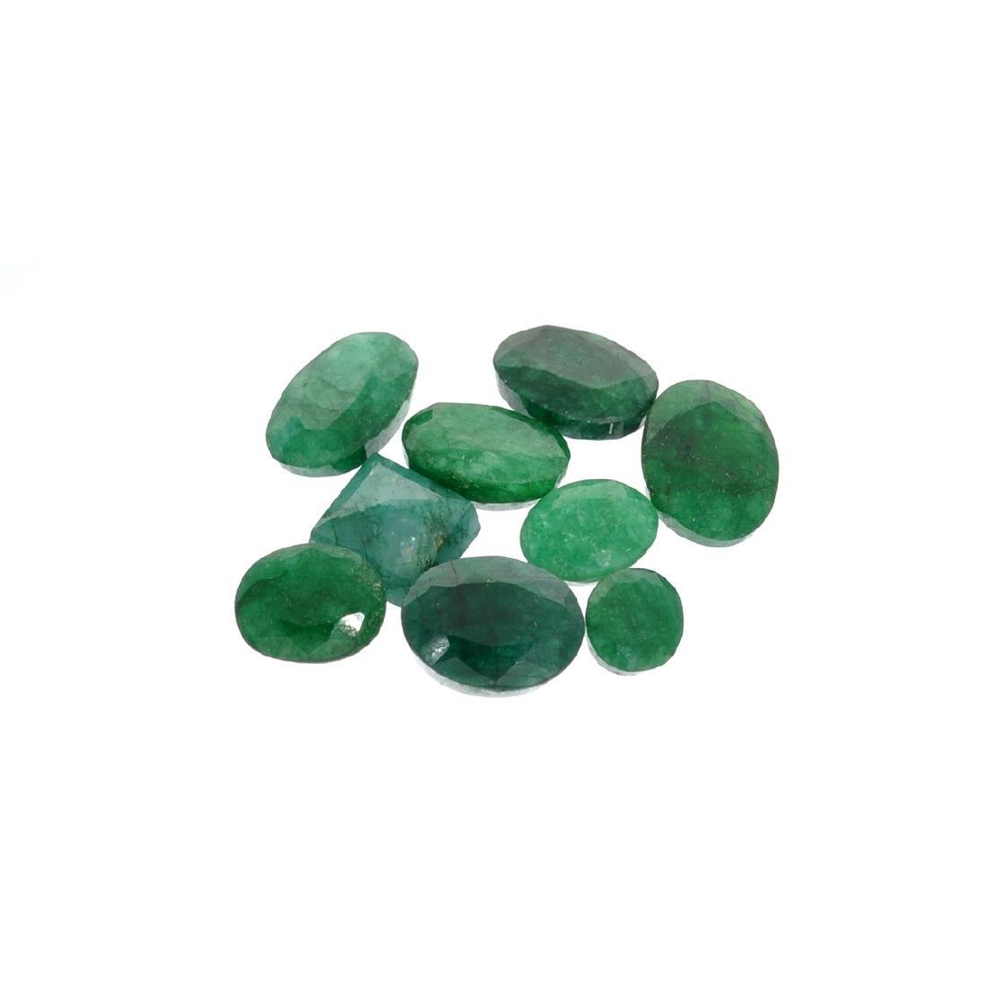 APP: 3.8k 50.49CT Green Emerald Parcel