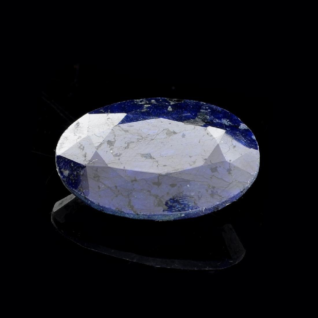 APP: 1k 21.27CT Oval Cut Blue Sapphire Gemstone