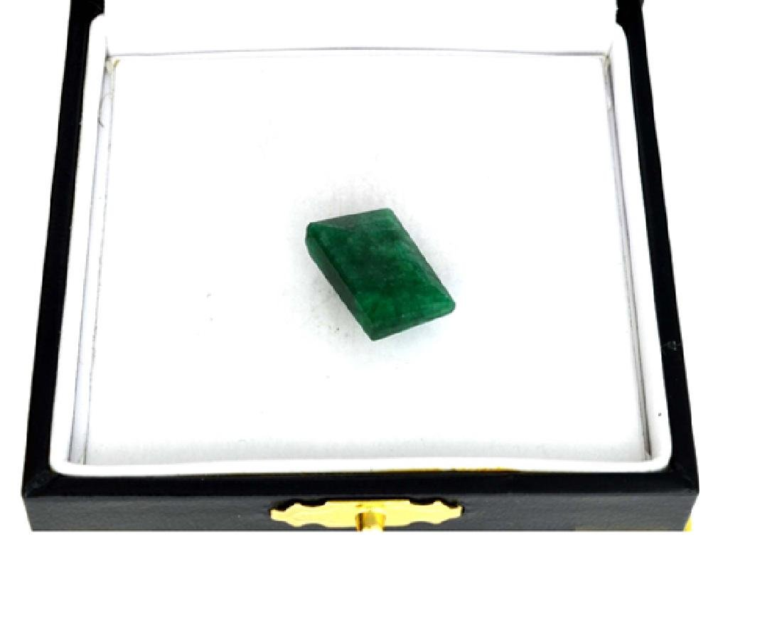 APP: 2.3k 11.28CT Rectangle Cut Green Beryl Emerald