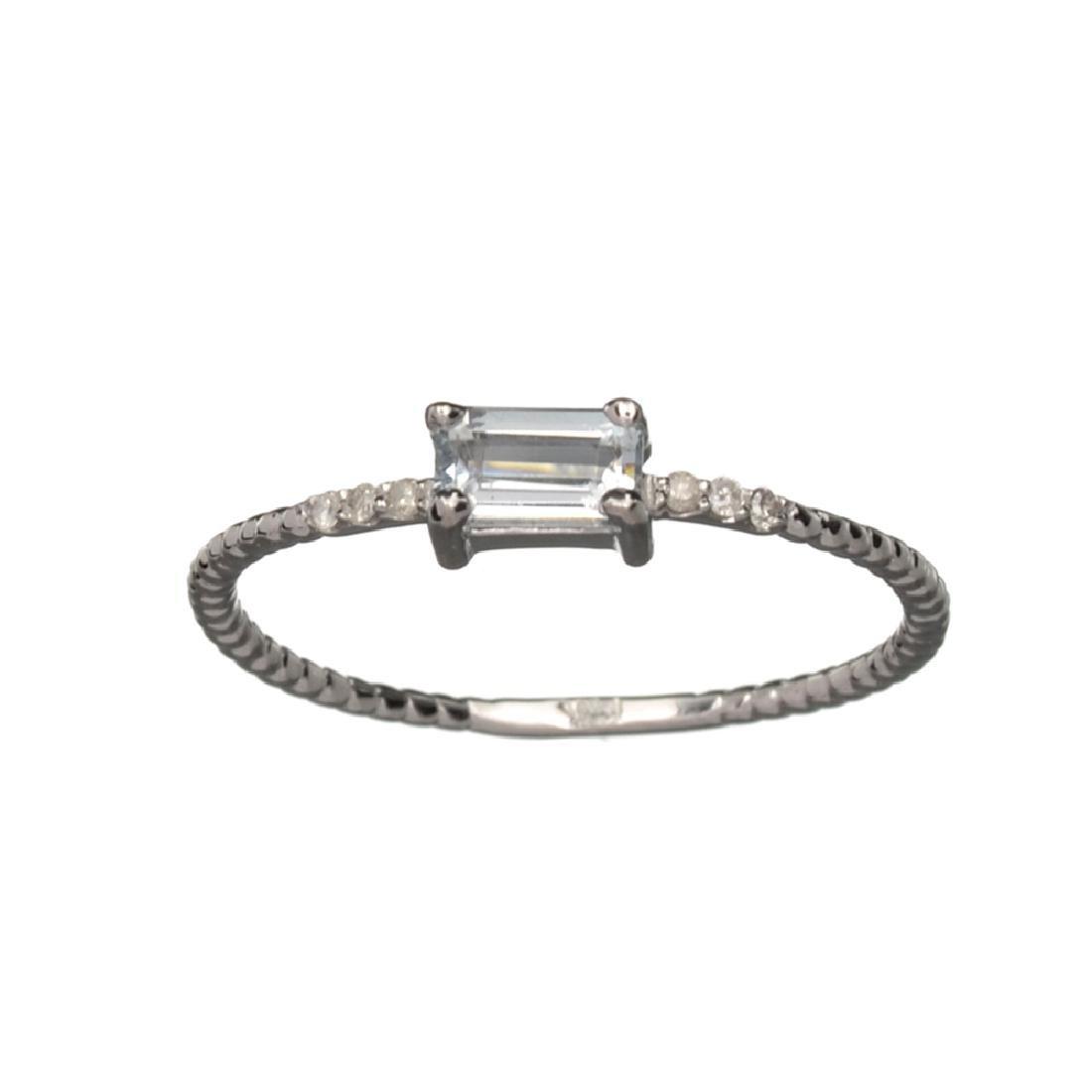 APP: 0.5k Fine Jewelry 14KT Gold, 0.28CT Blue
