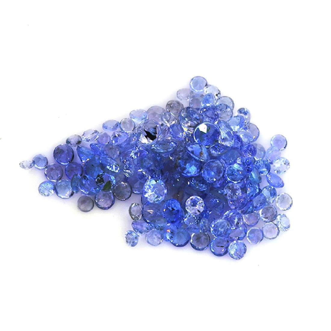 APP: 1.2k 12CT Round Cut Tanzanite Parcel