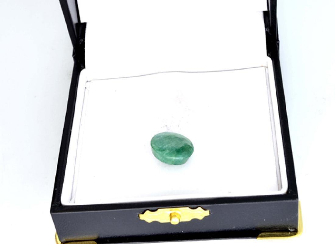 APP: 0.9k 6.32CT Round Cut Emerald Gemstone