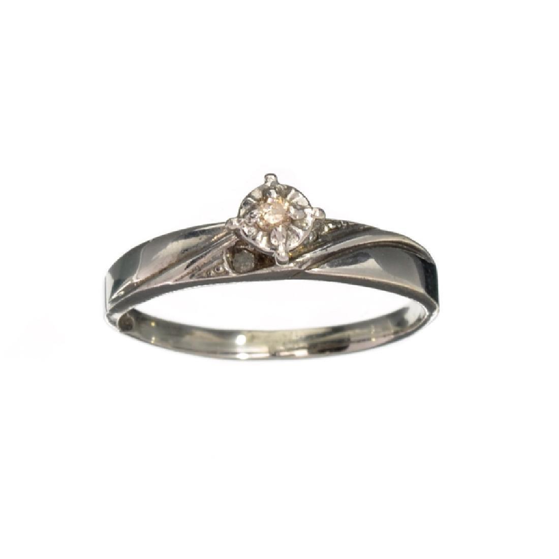 APP: 0.3k Fine Jewelry 0.07CT Briiliant Cut Diamond And