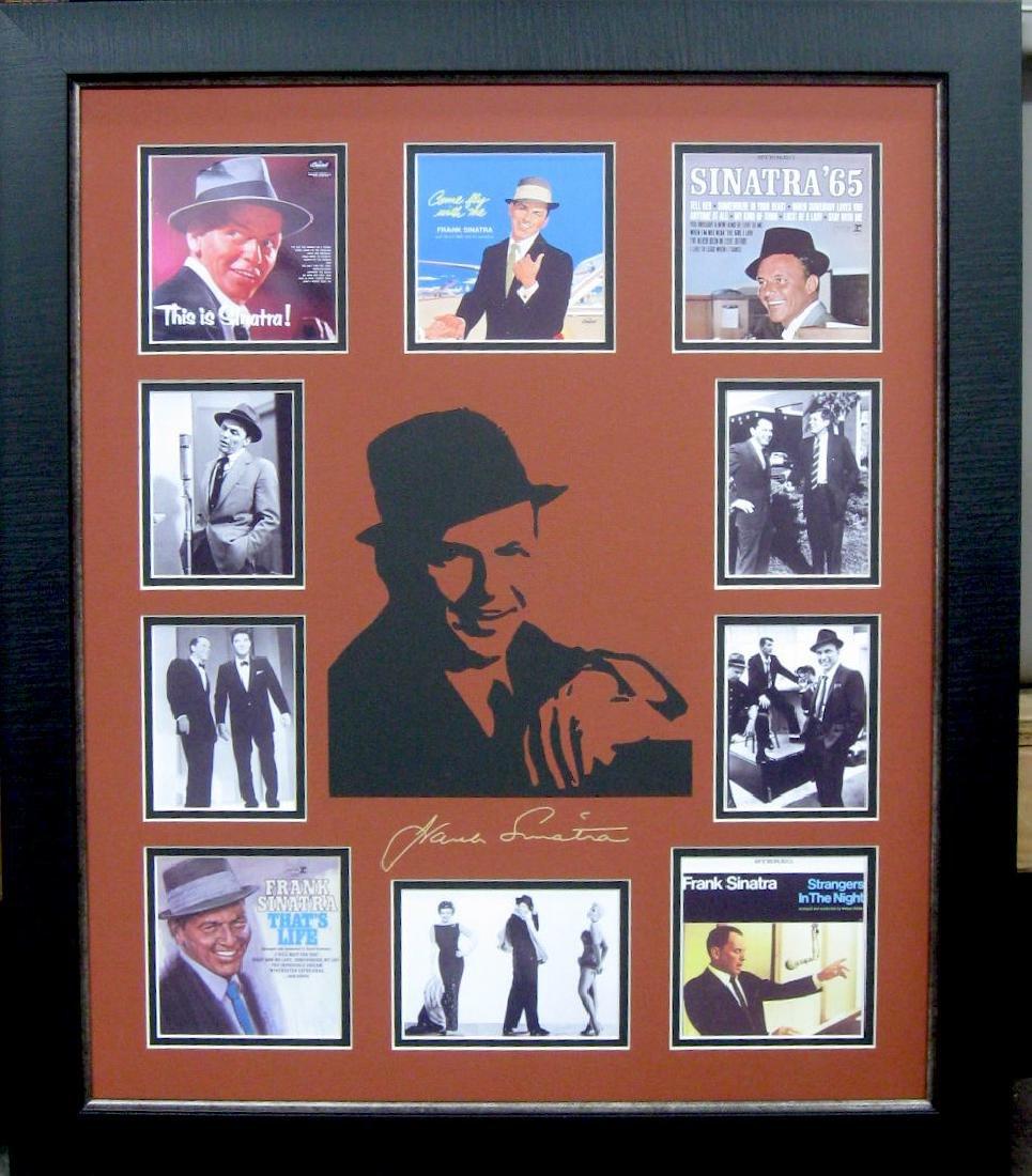 Sinatra Laser Engraved Siganture