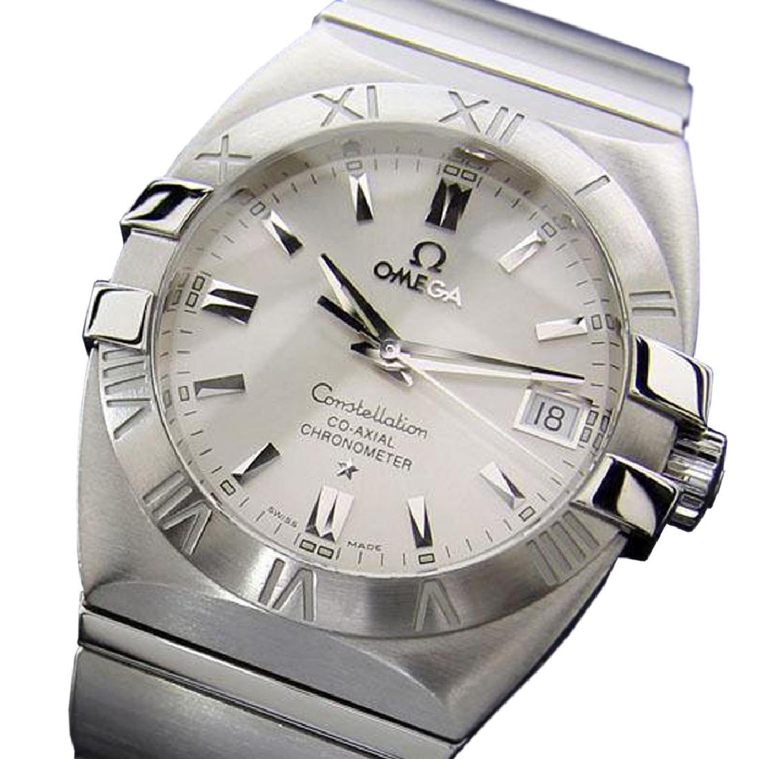 *Mens Swiss Omega Constellation Co-Axial Chronometer
