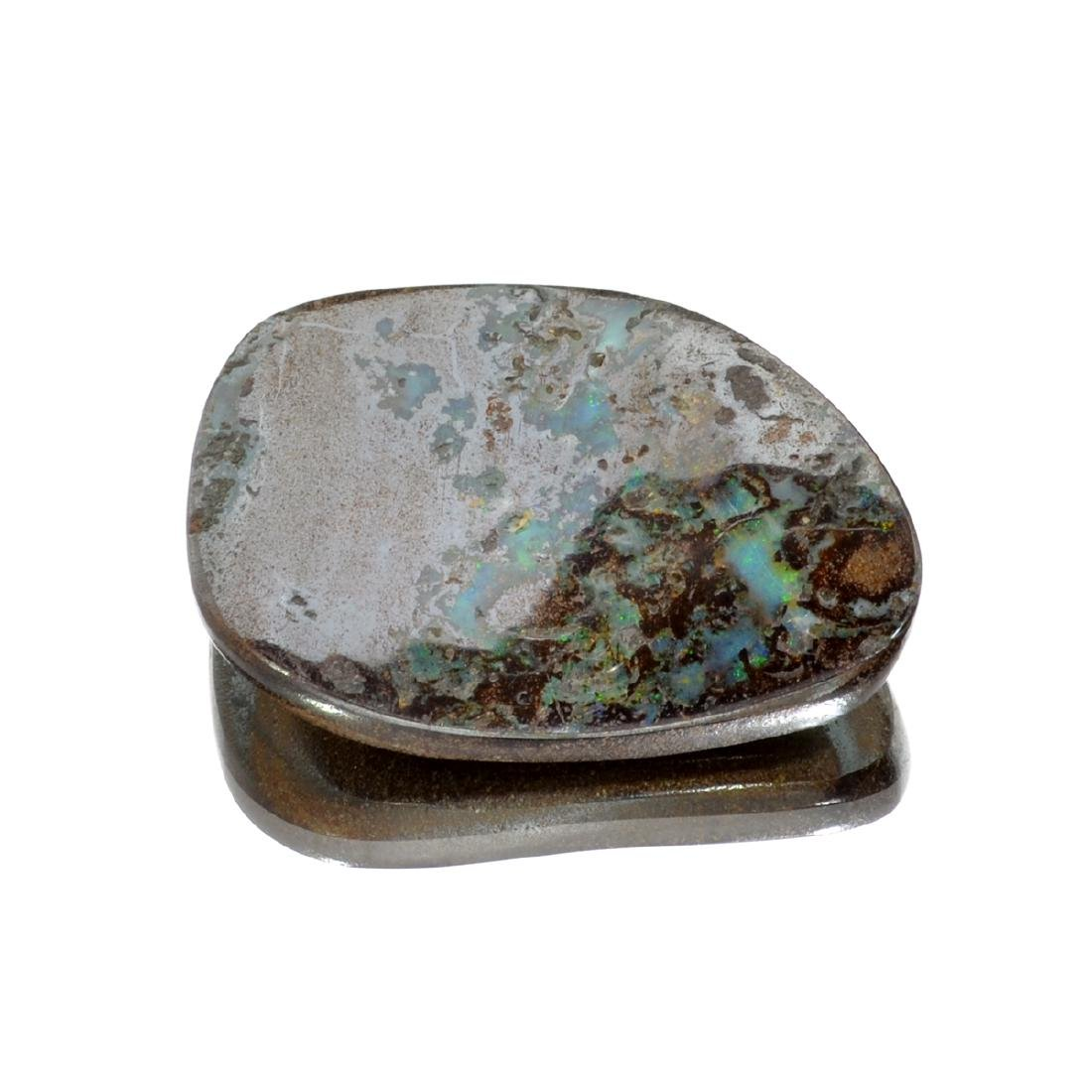 APP: 1.3k 53.63CT Free Form Cabochon Brown Boulder Opal