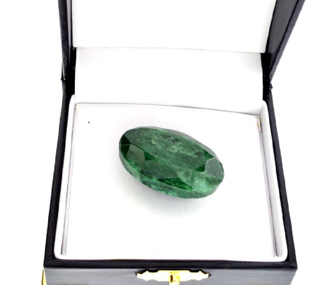 APP: 3.1k 75.85CT Oval Cut Green Beryl Emerald Gemstone