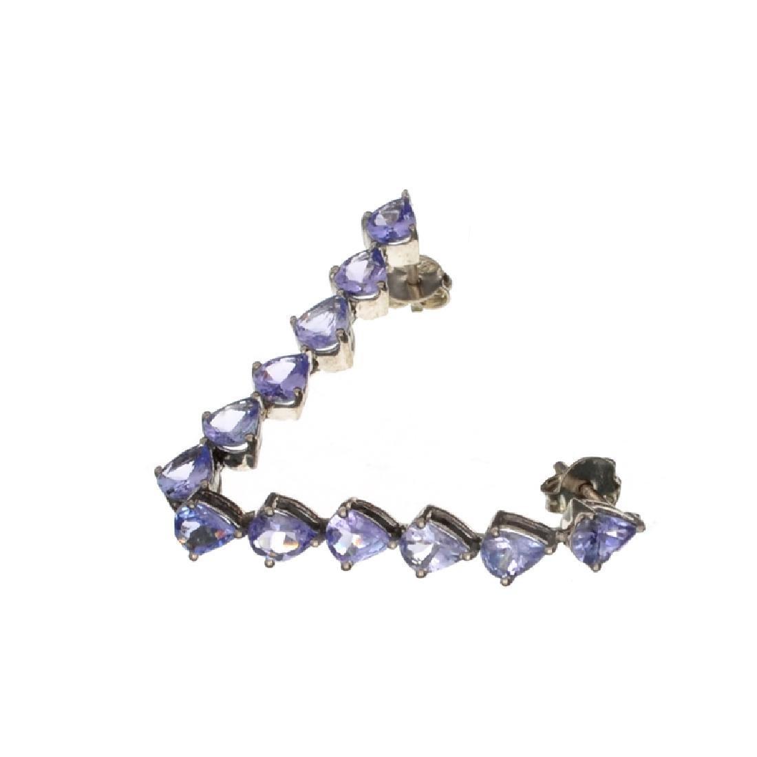 APP: 2.6k Fine Jewelry 4.20CT Pear Cut Tanzanite And