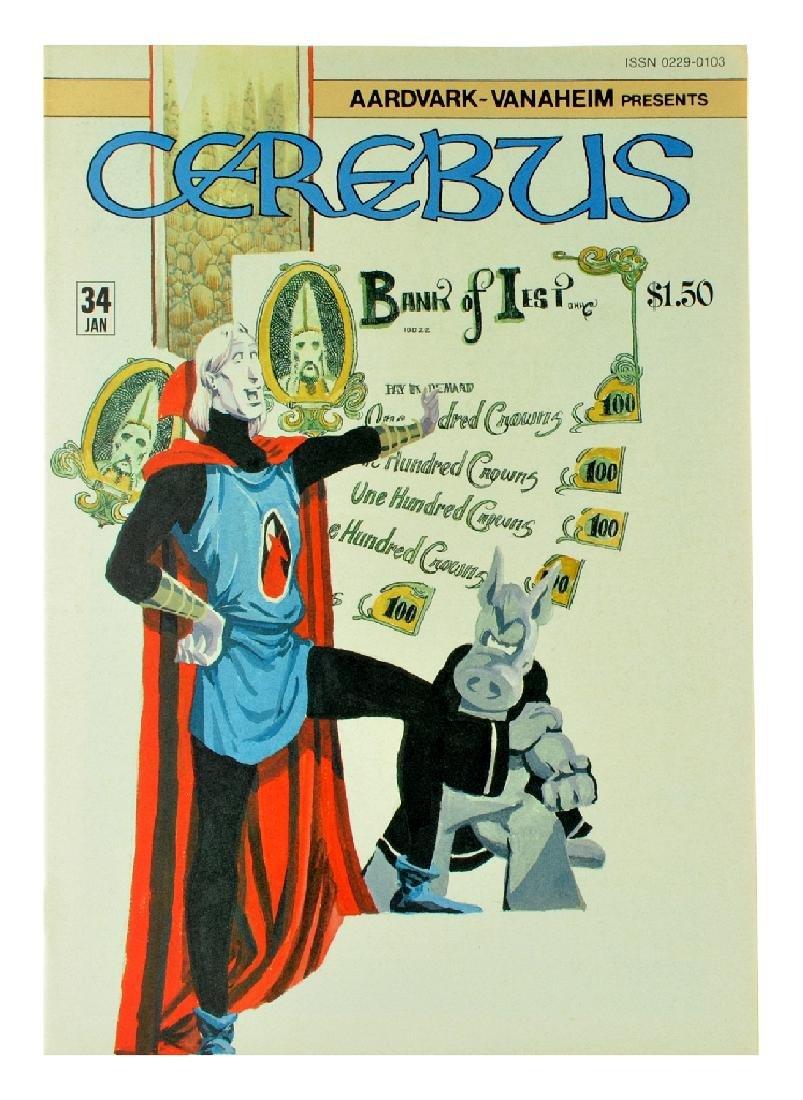 Cerebus (1977) Issue 34