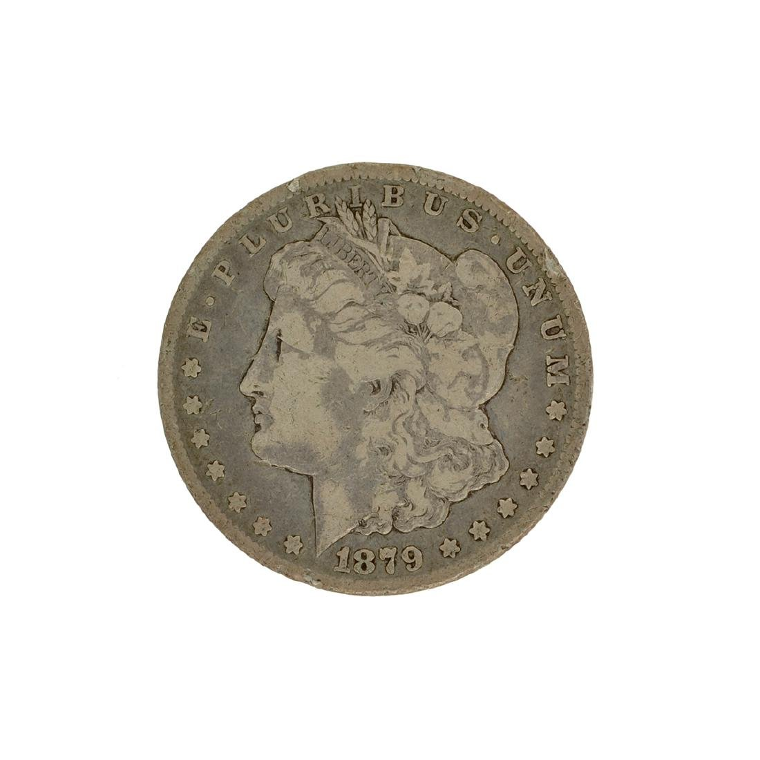 1879-CC Morgan Silver Dollar Coin