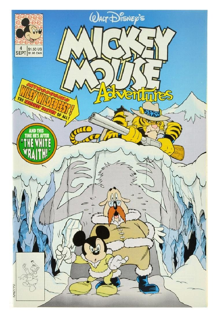 Mickey Mouse Adventures (1990) Issue 4