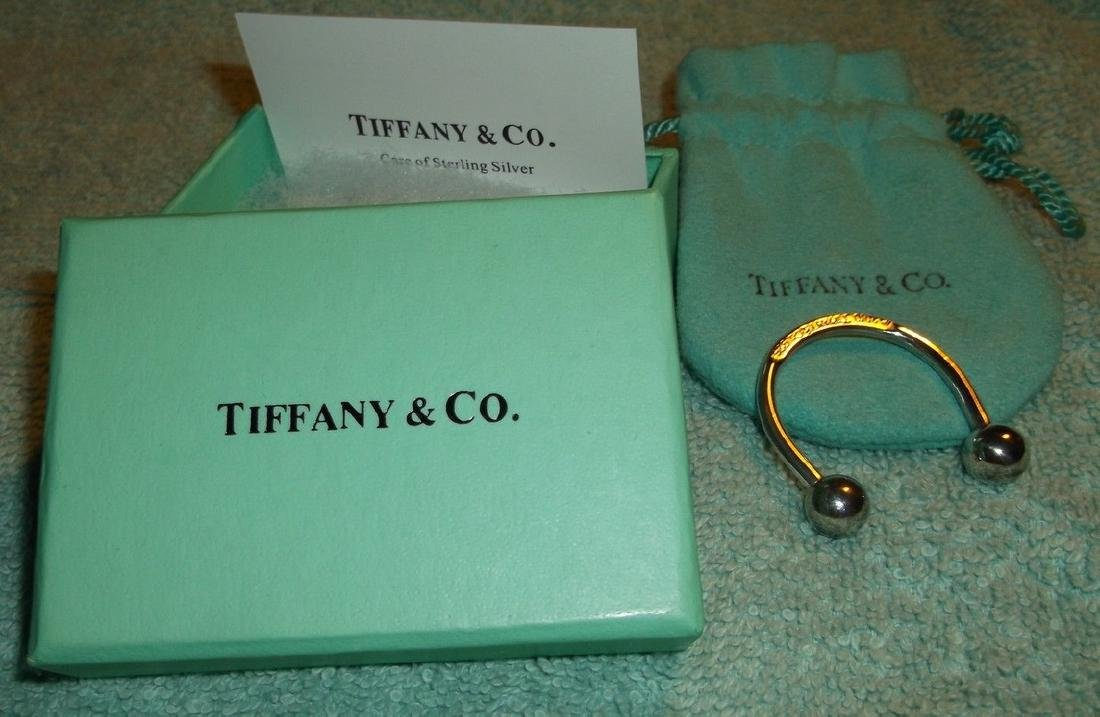 Fine Jewelry Tiffany & CO 925 Sterling Silver Large