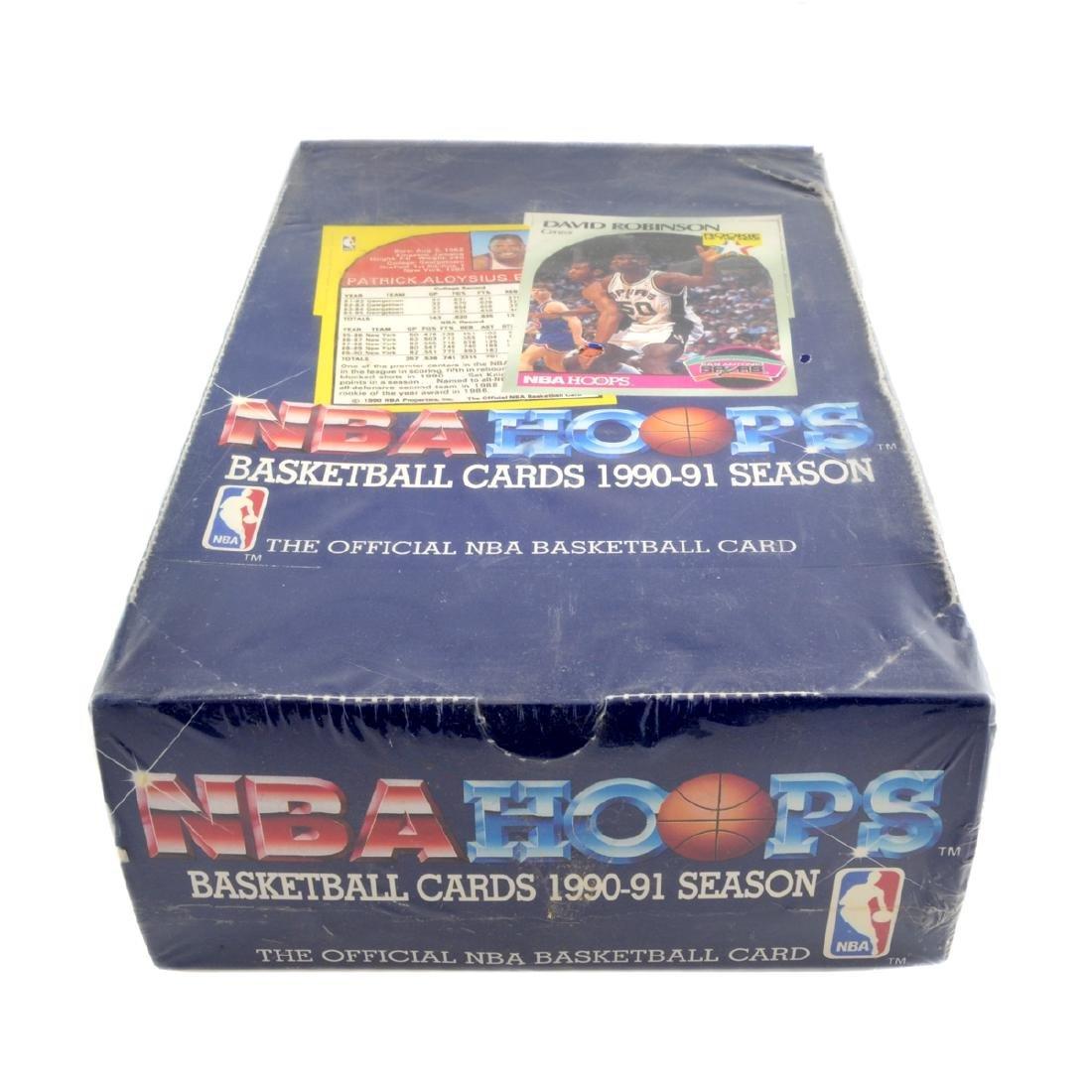 1990 - 91 Season NBA Hoops Basketball Card Set (Unopen)