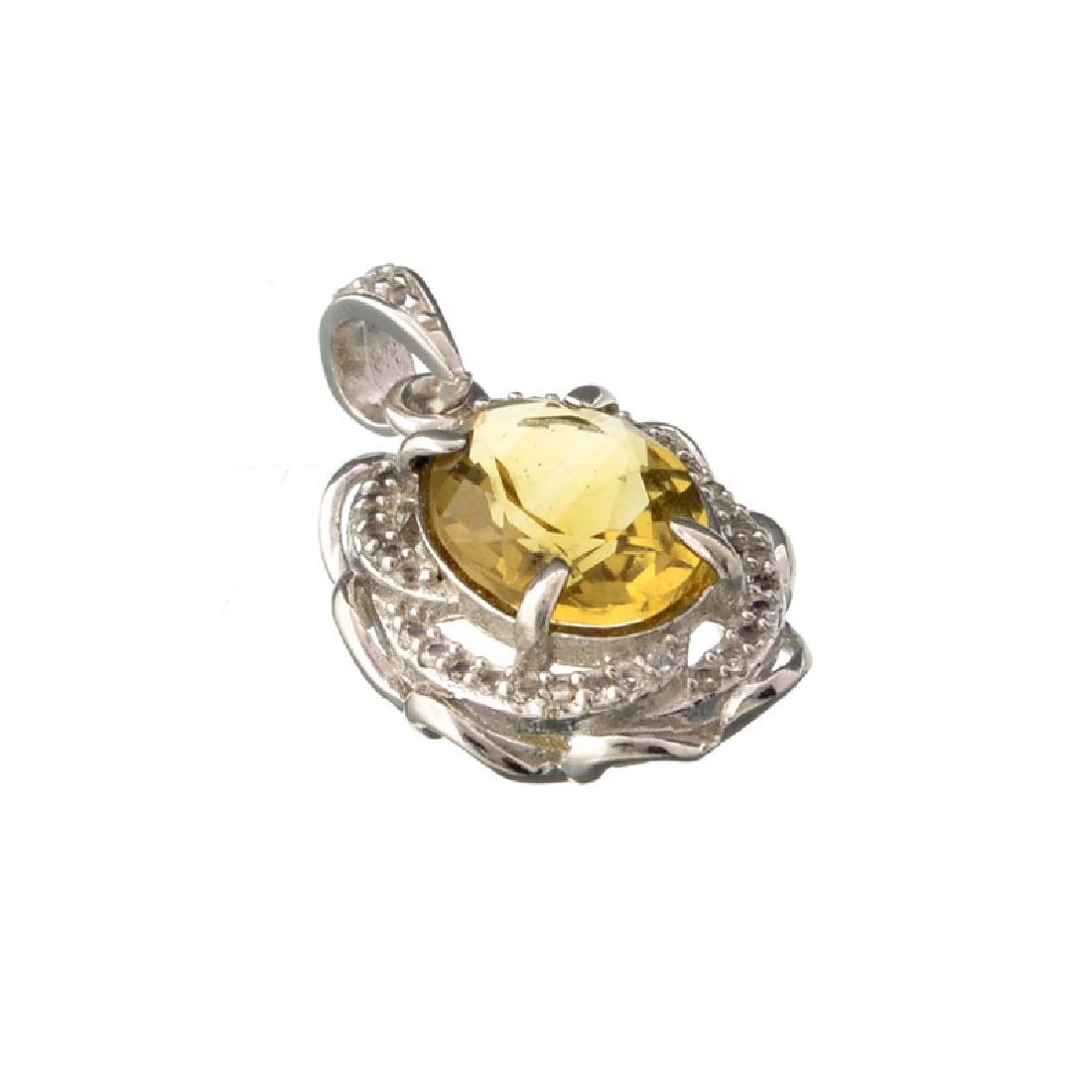 APP: 0.8k Fine Jewelry 2.50CT Oval Cut Citrine And