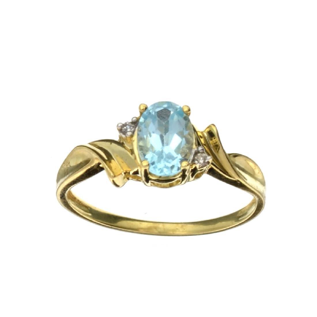 APP: 0.6k Fine Jewelry 10kt. Yellow/White Gold, 1.00CT