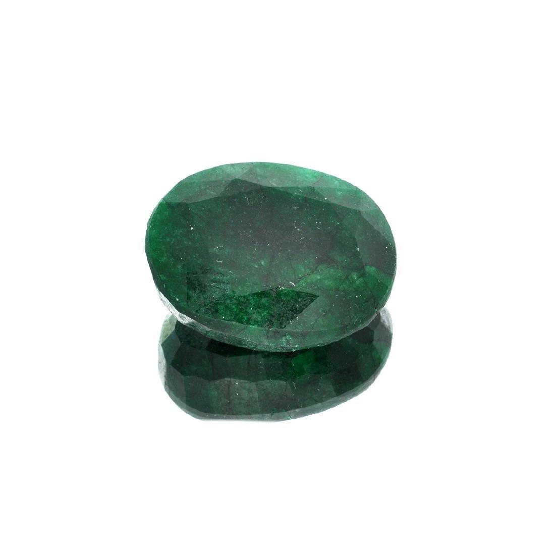 APP: 5.1k 67.60CT Oval Cut Green Emeral Gemstone