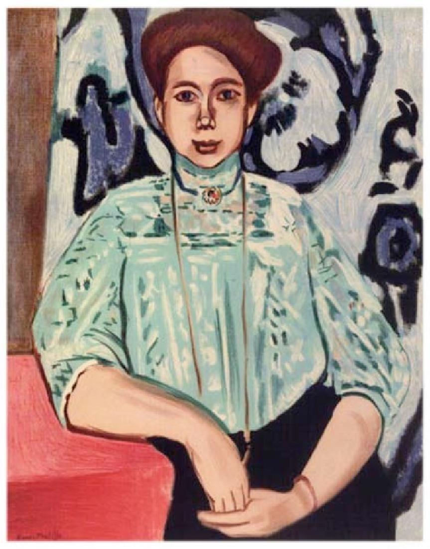 Henri Matisse ''''093 Mme Greta Moll'''' 18 x 24 Paper