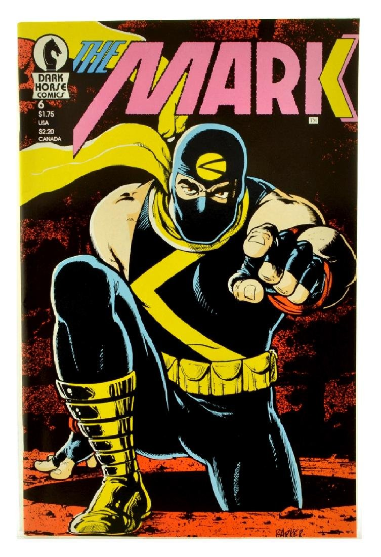 The Mark (1987) Issue 6
