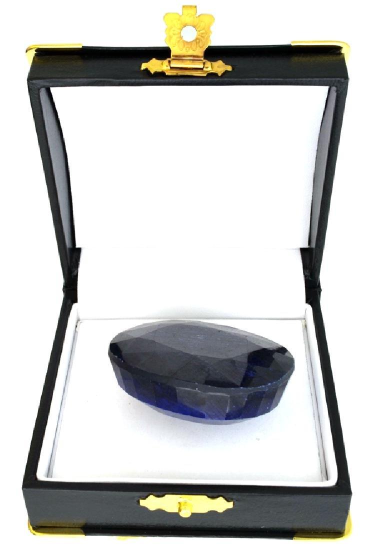 281.10CT Oval Cut Blue Sapphire Gemstone
