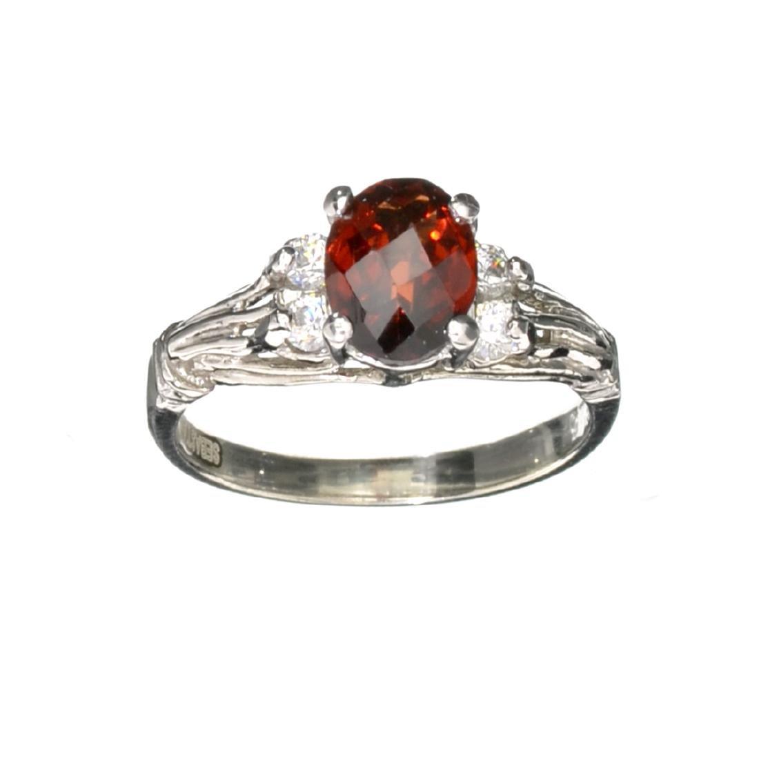 Fine Jewelry Designer Sebastian 1.84CT Almandite Garnet