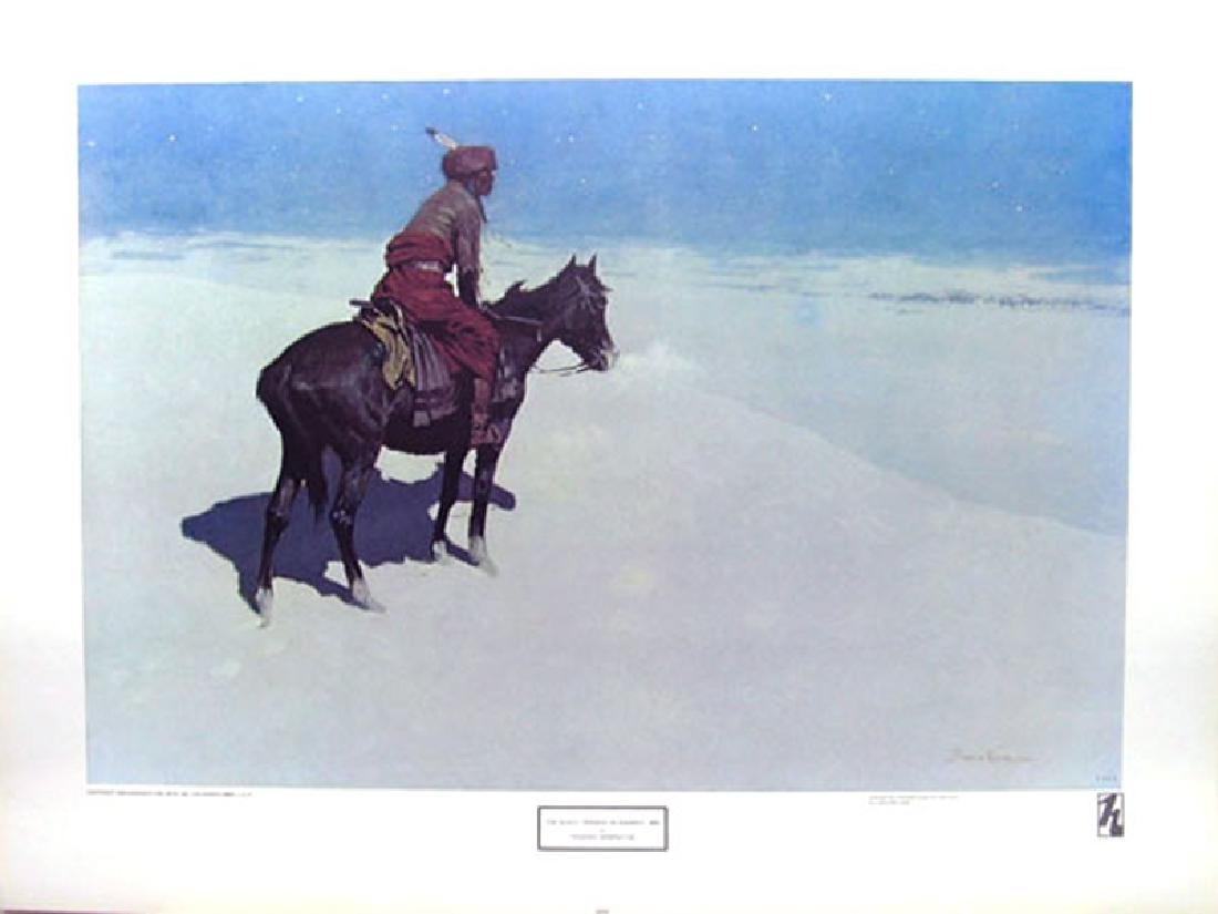 FREDERIC REMINGTON (After) The Scout: Friends or