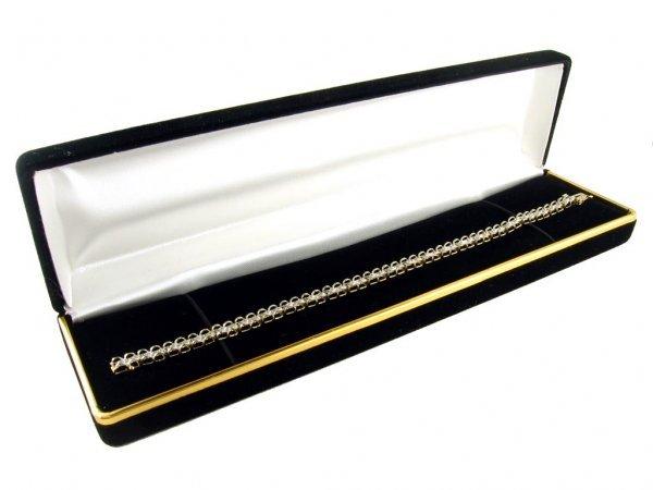 200: GOV: 14 kt. Gold, .50CT Diamond Bracelet, INVESTME