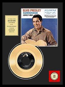 230: ELVIS PRESLEY ''Surrender'' Gold LP