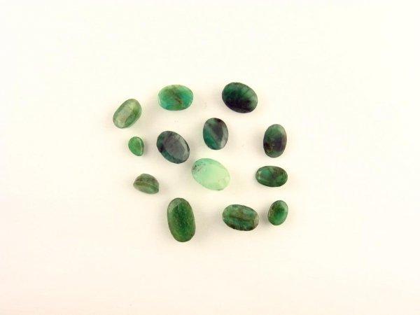 234: GOV: 19.85CT Mixed Shape Emerald Parcel, INVESTMEN