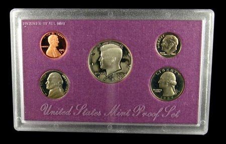 208: GOV: 1989 US Proof Set Coin, COLLECTABLE!!