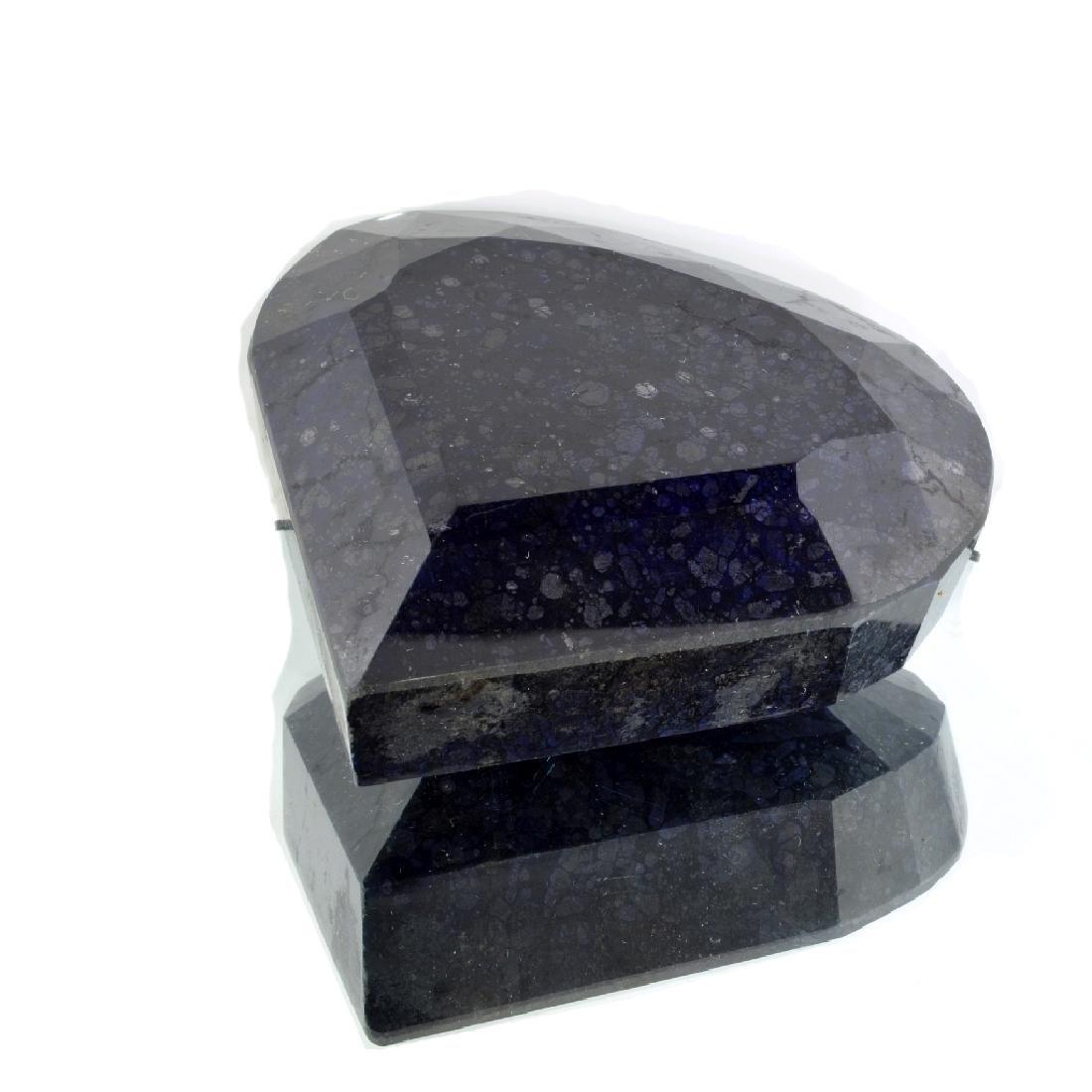 APP: 10.4k 2,591.00CT Oval Cut Blue Sapphire Gemstone