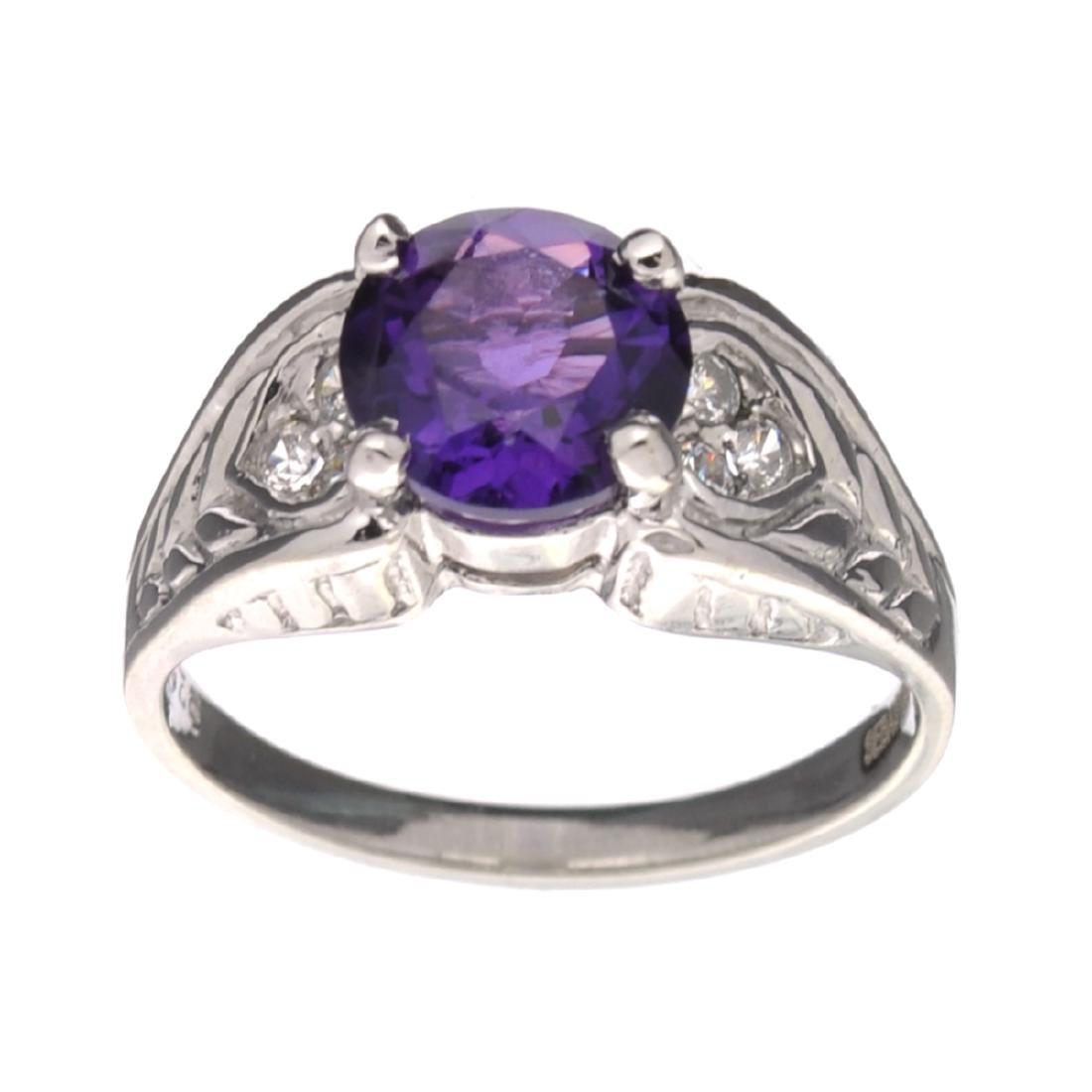 Fine Jewelry Designer Sebastian 1.41CT Round Cut