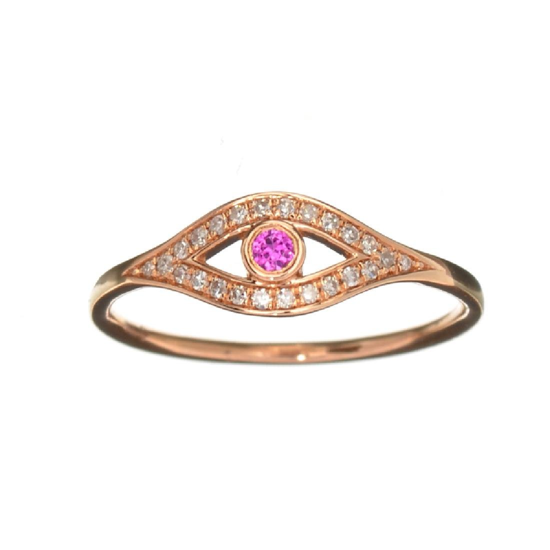 APP: 0.8k Fine Jewelry 14KT Gold, 0.04CT Ruby And