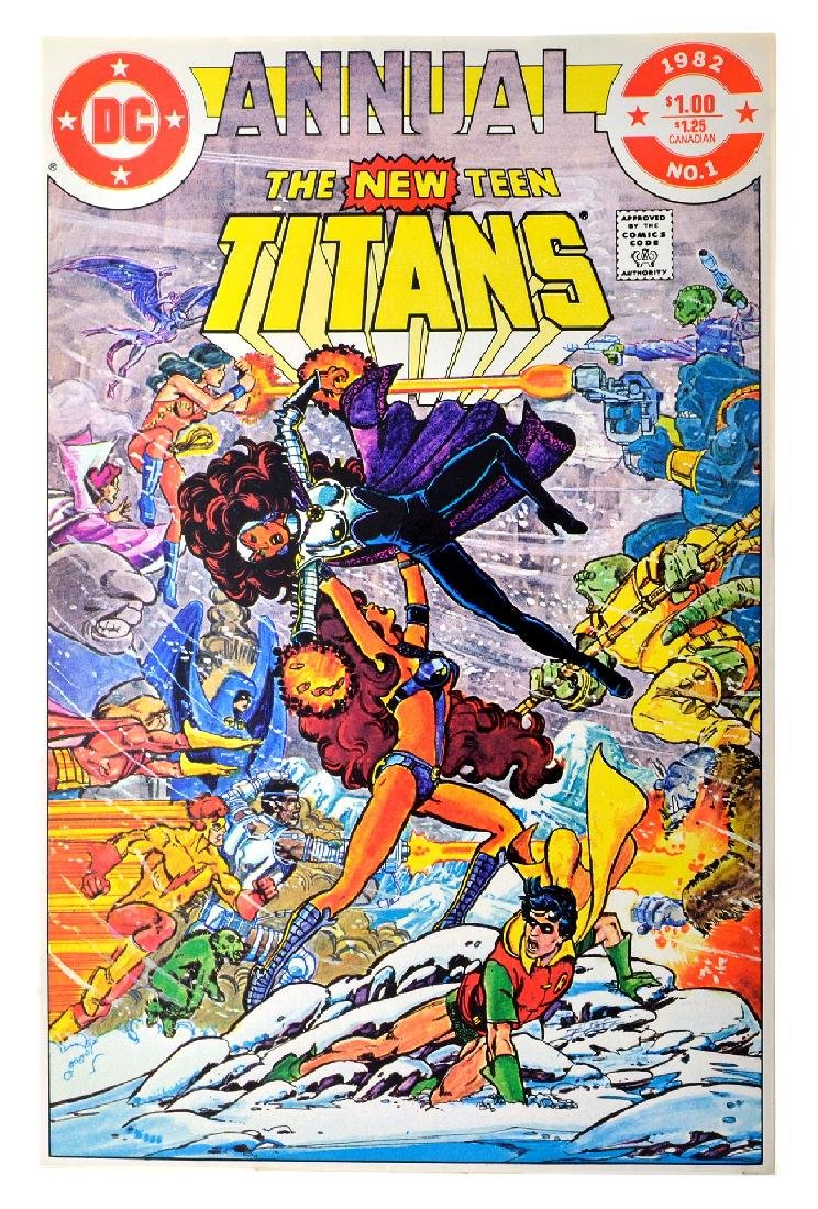 New Teen Titans (1980) Issue Annual  1