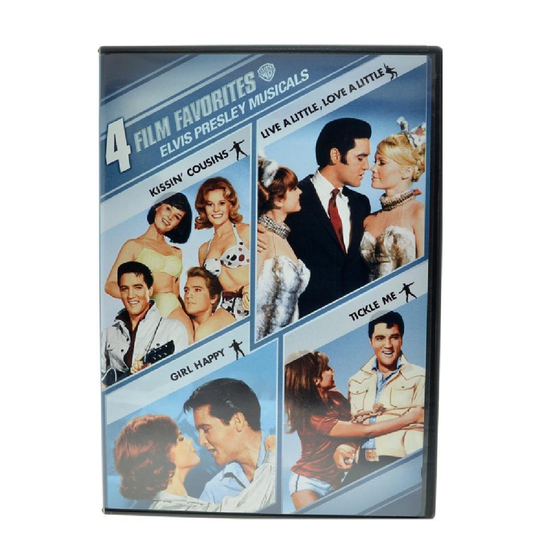 Elvis Presley Movie: 4 Film Of Elvis Musicals
