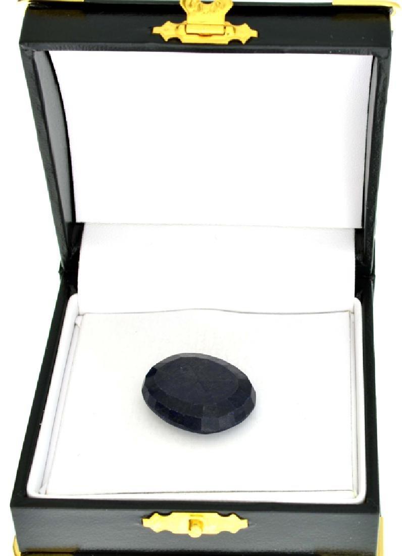 APP: 1.8k 38.22CT Oval Cut Blue Sapphire Gemstone
