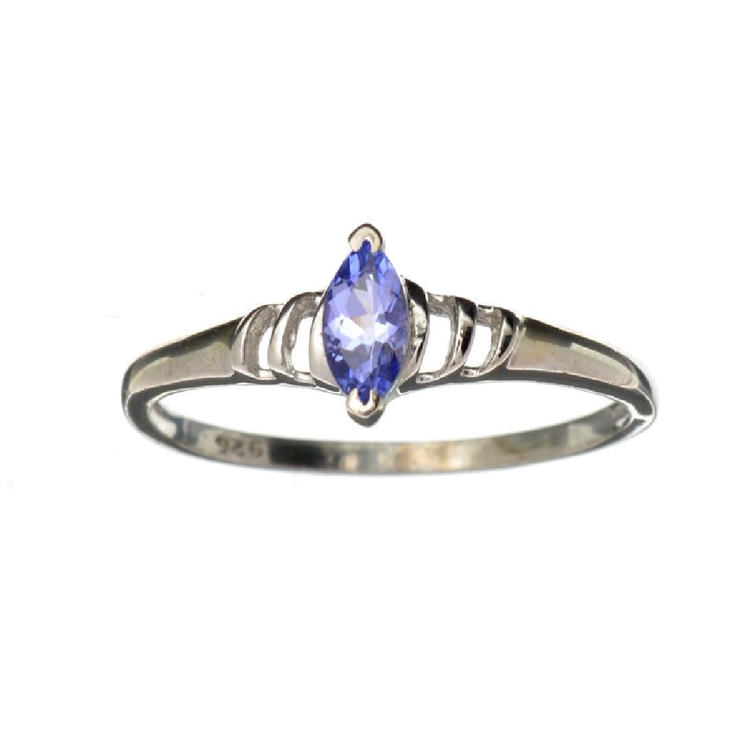 APP: 0.8k Fine Jewelry 0.35CT Marquise Cut Tanzanite