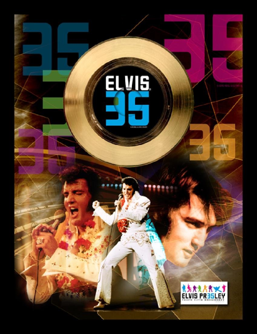 ''35th Anniversary Commemorating The King'' Gold 45RPM