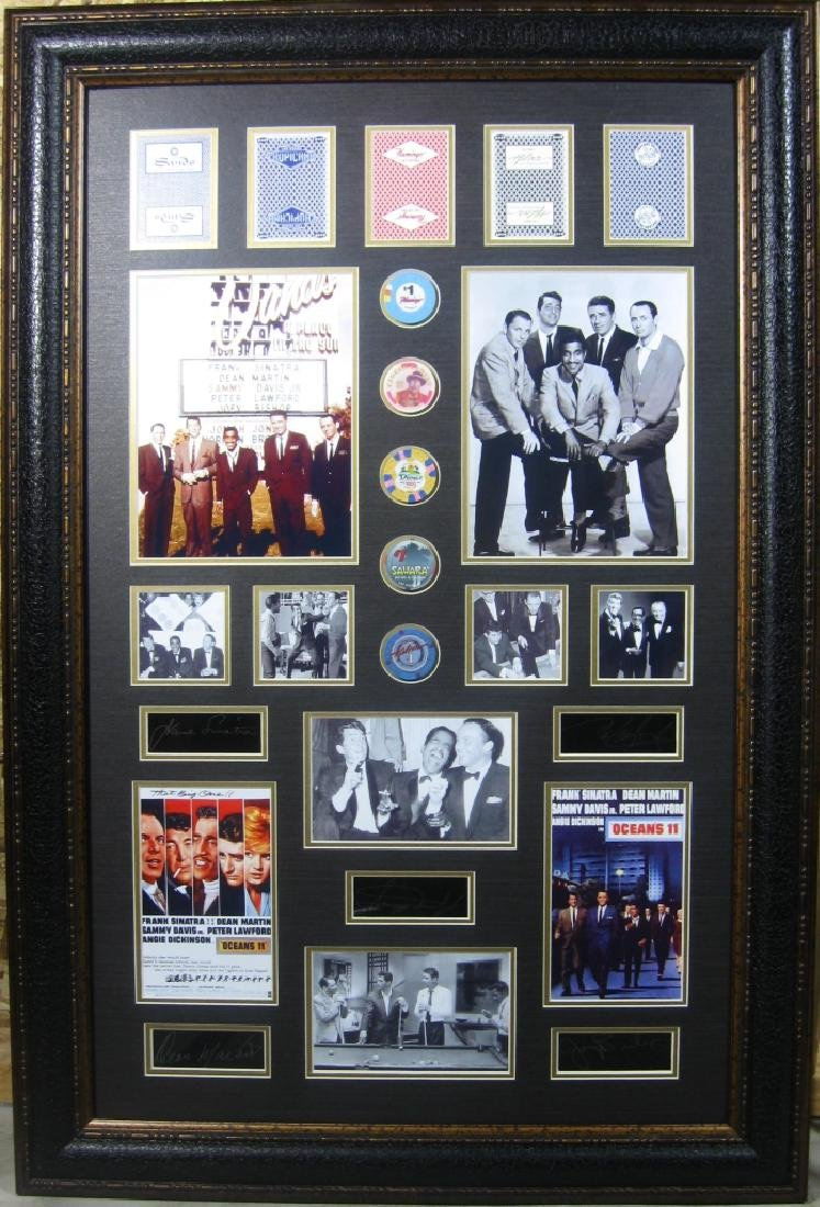 Rat Pack New Version - Engraved Signatures
