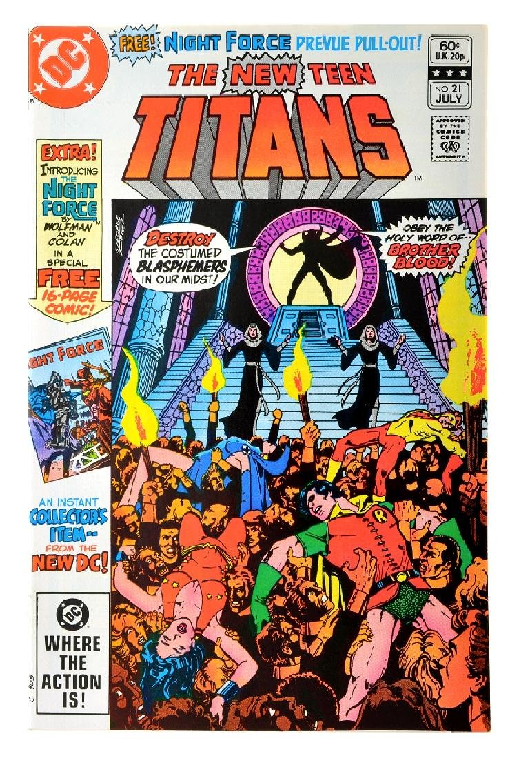 New Teen Titans (1980) Issue (Tales of ...) Issue  21