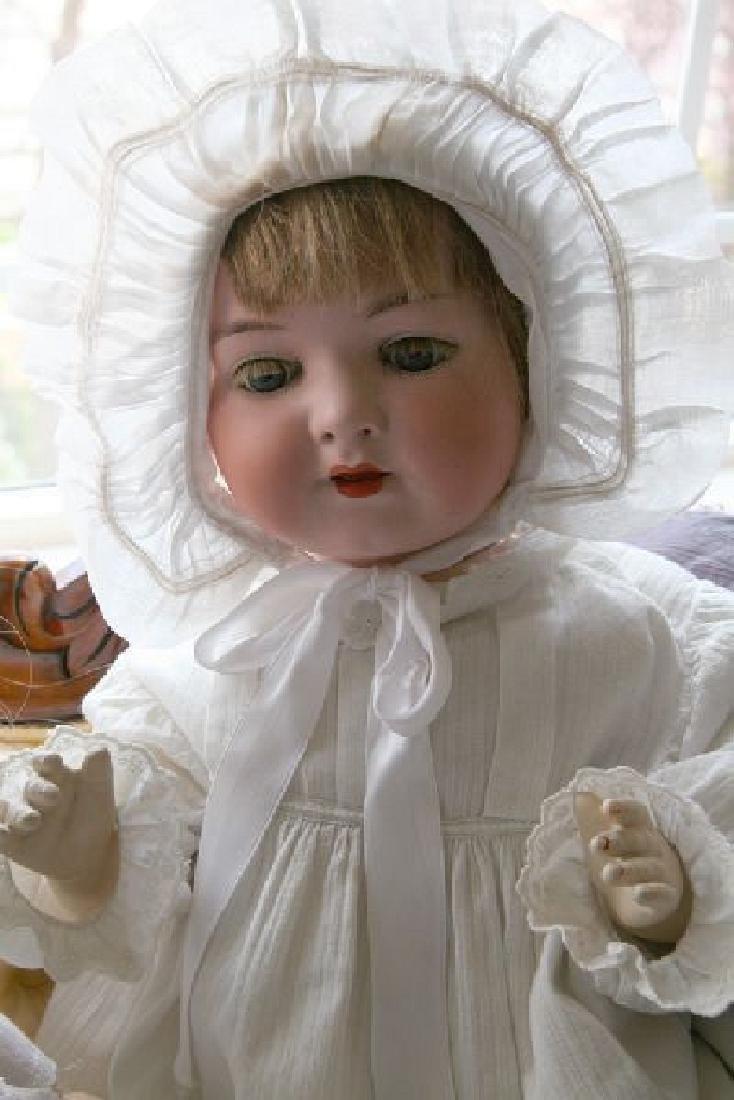Antique Porcelain Doll -P-