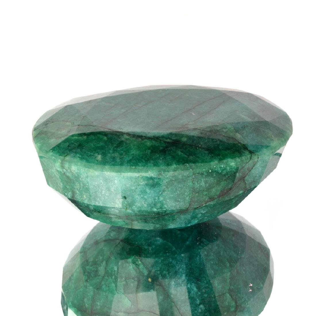 Est. Value 4.2K - 7.0K 1755.50CT Oval Cut Green Beryl