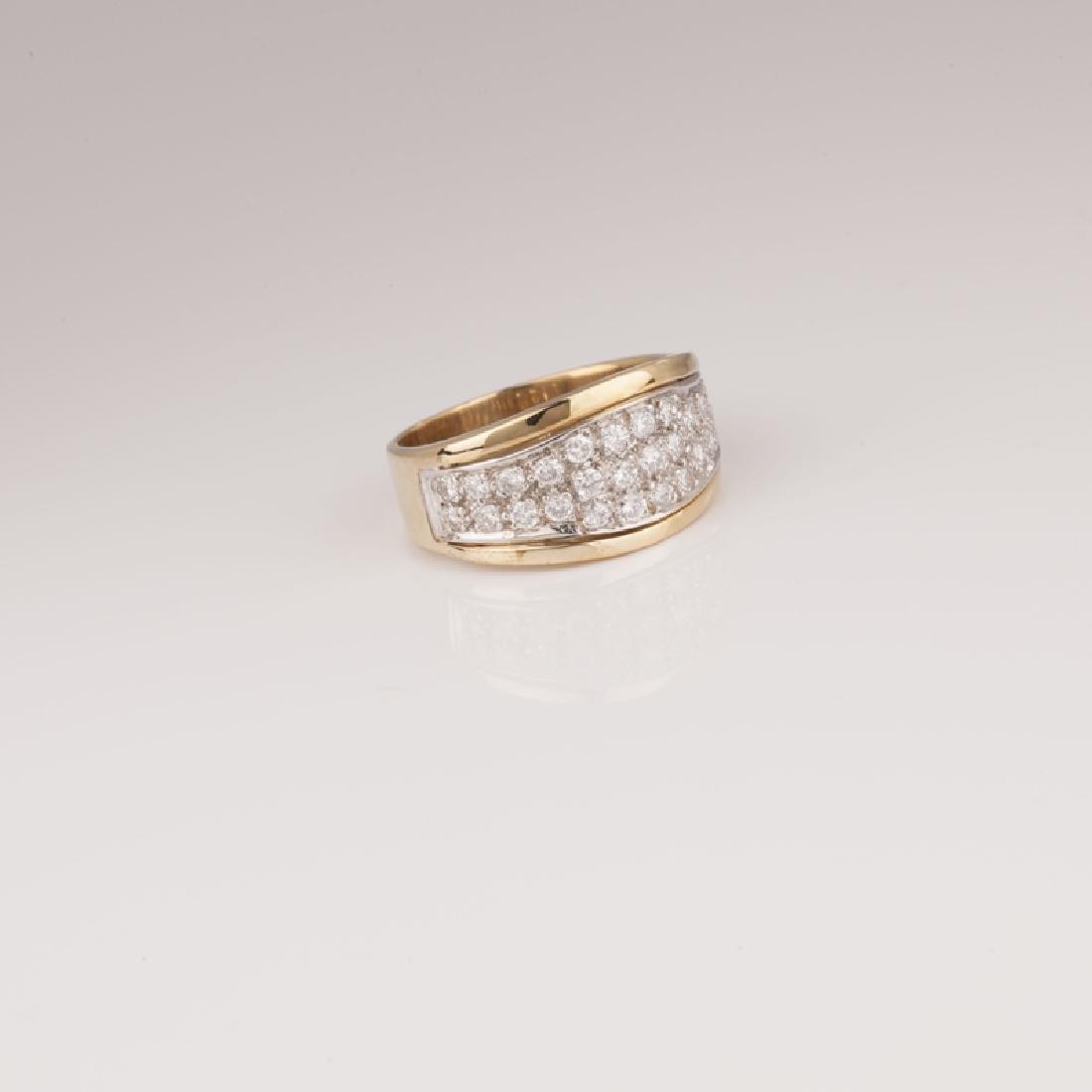 *Fine Jewelry Custom Made 14kt Gold And 1.00CT Diamond