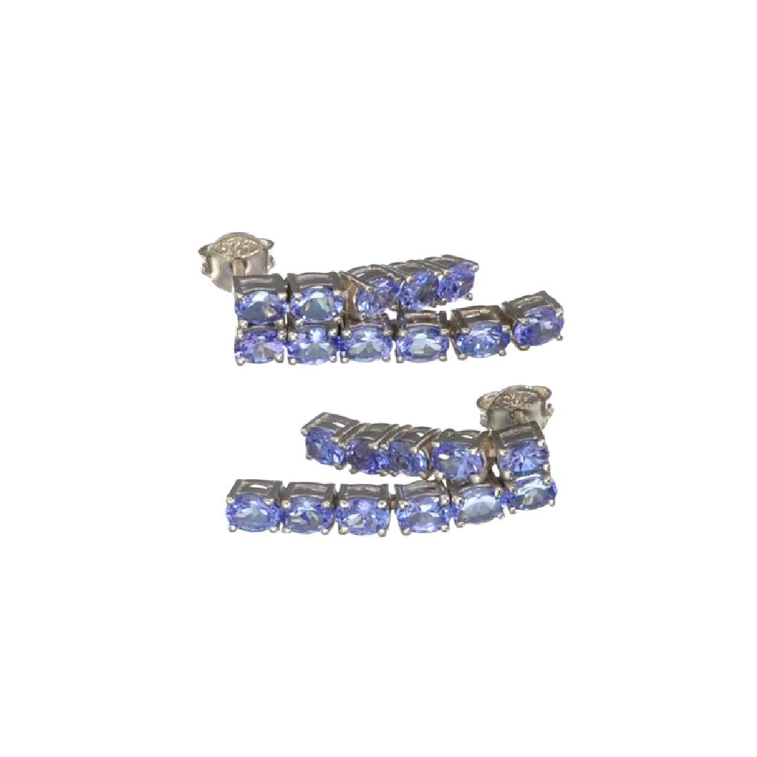 APP: 2.8k Fine Jewelry 3.66CT Oval Cut Tanzanite And