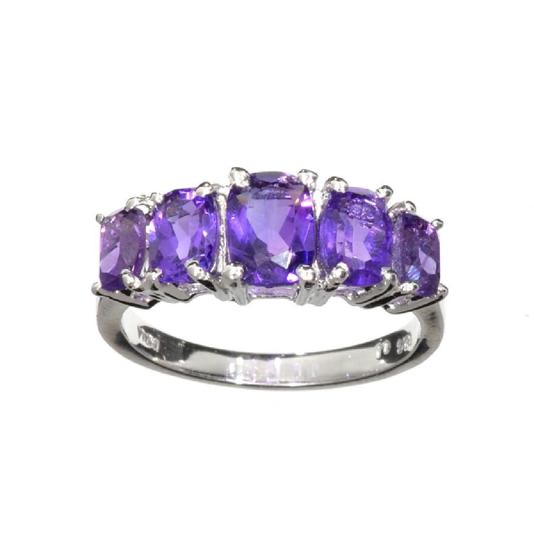 APP: 0.9k Fine Jewelry 2.25CT Oval Cut Purple Amethyst