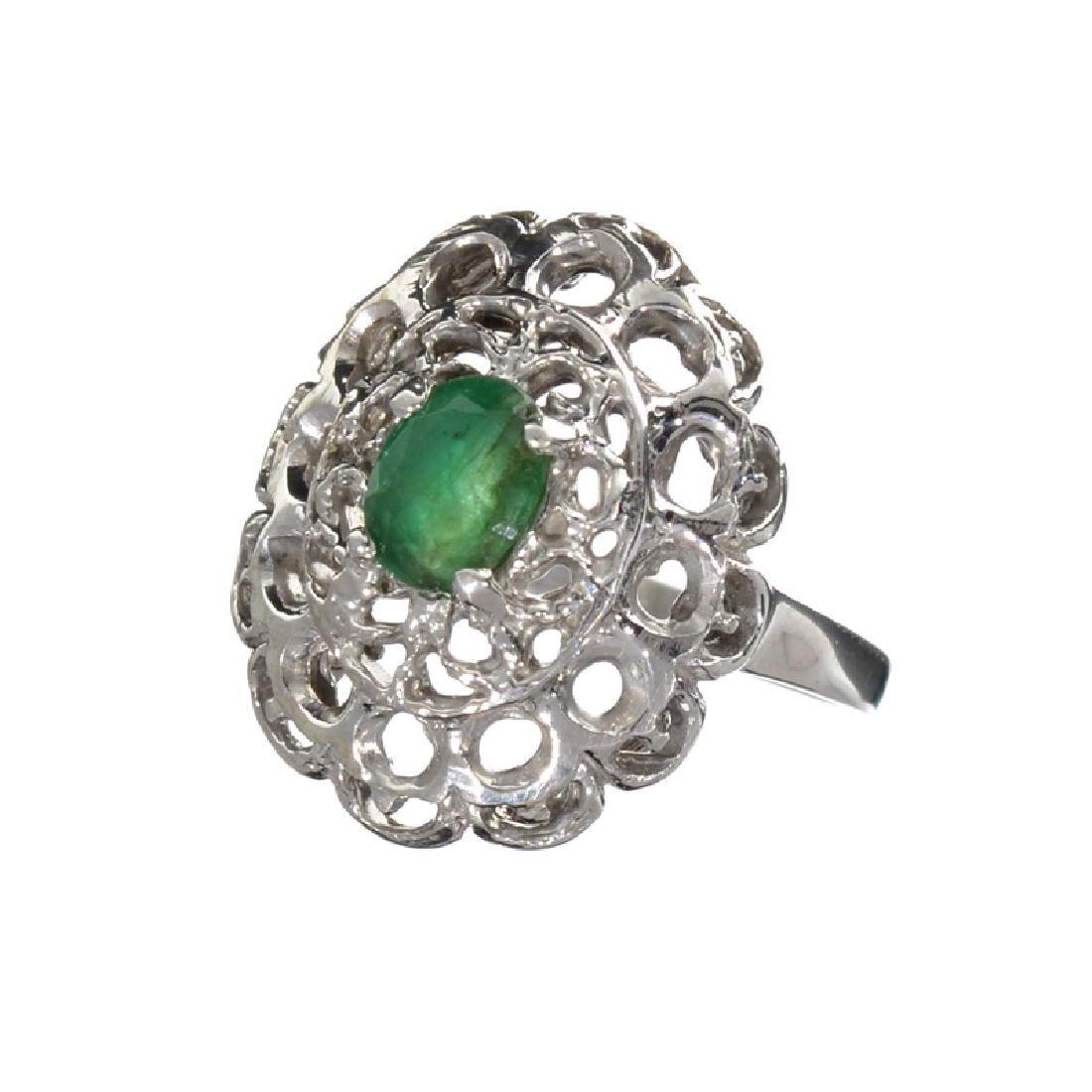 APP: 1.6k Fine Jewelry 0.60CT Oval Cut Green Beryl