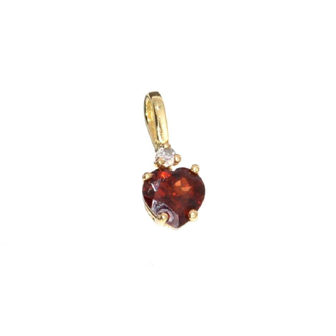 APP: 0.5k Fine Jewelry 14 kt. Gold, 0.50CT. Almandite