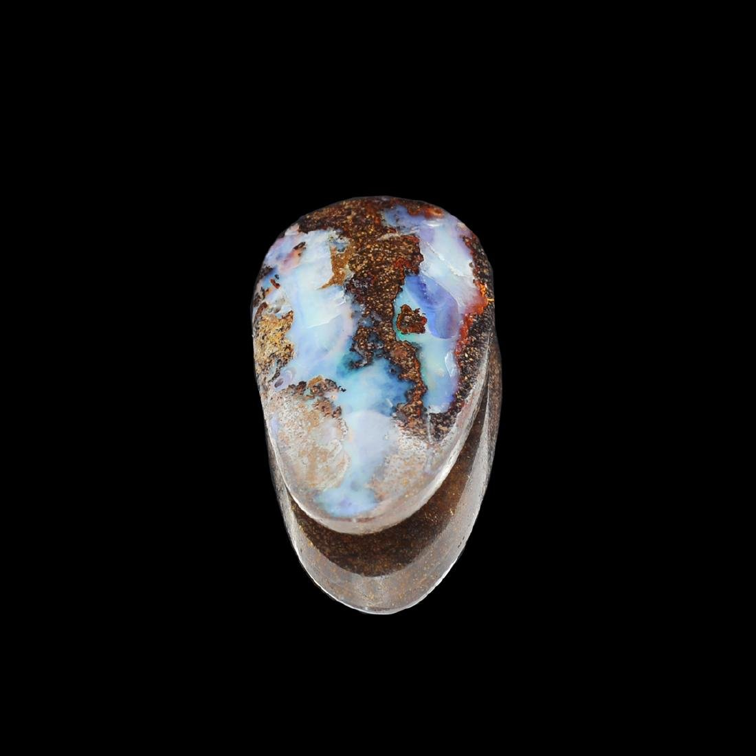 Gorgeous 30.00CT Rare Boulder Opal Gemstone