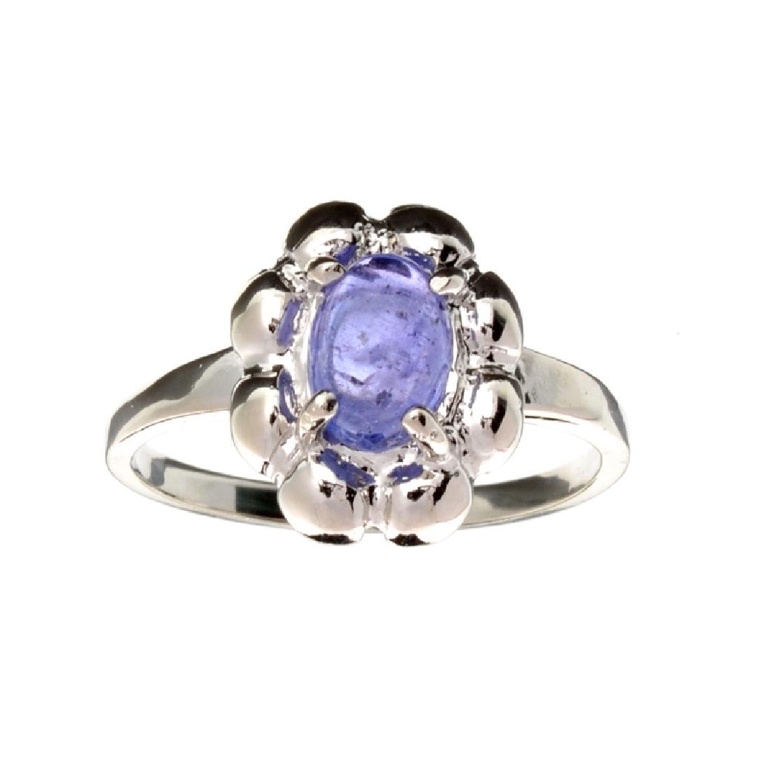 APP: 1k Fine Jewelry 2.00CT Oval Cut Cabochon Tanzanite